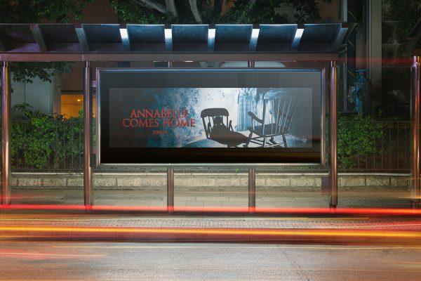quảng cáo phim annabelle