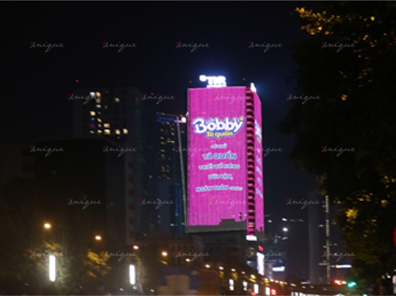 quảng cáo led building