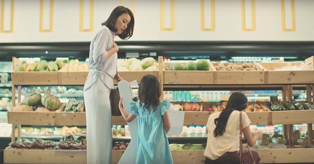 honda quảng cáo xe đẩy siêu thị